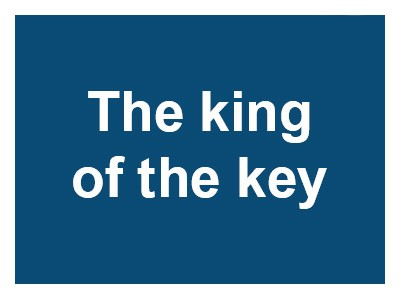 The King of the Key